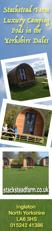 Stackstead Farm Glamping Pods