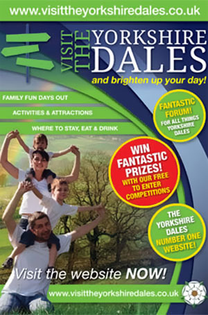 yorks dales promo brighten your day banner